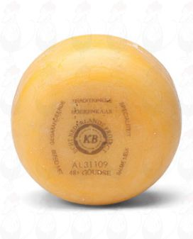 Gouda Natural Pounds Farmers Cheese | 400 grammes / 0.88 lbs