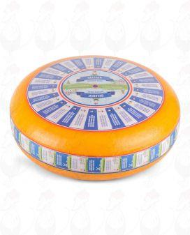 Lagrad Goudaost | Premiumkvalitet | Hela ost 12 kilo
