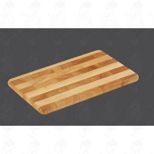 Snijplank kopshout 33 x 21 x 2 cm - Rubberhout