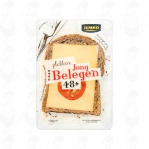 Huismerk Jong Belegen Plakken Kaas 48+ 190g