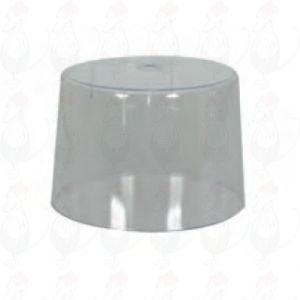 Kupa för ostgirolle med metallplatta, girolle och hyvel