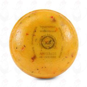 Gouda Farmarost Pund Tomat Oliver | 400 gram / 0.88 lbs