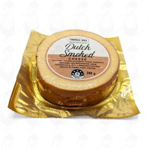 Dutch Smoked Cheese | Premium Quality | 200 grams / 0.5 lbs