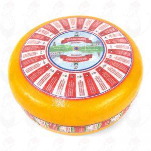 Maasdammerost - Hålig Ost | Premiumkvalitet | Hela ost 12,5 kilo