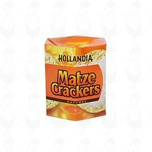 Hollandia Matze Crackers Naturel 16 cookies