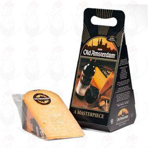 Old Amsterdam-ost Presentlåda - +/- 1 kilo - 2,2 lbs ost