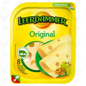 Sliced Leerdammer Cheese Original 45+ | 160 grams in slices