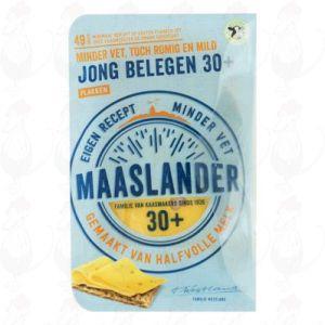 Sliced Maaslander Cheese Semi-Matured 30+ | 175 grams in slices