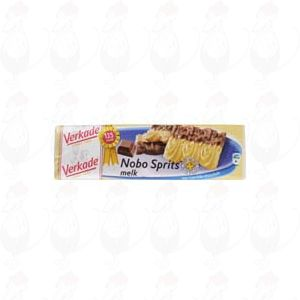 Verkade Nobo sprits melkchocolade 150 gram