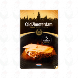 Sliced cheese Old Amsterdam 48+ | 140 grams in slices