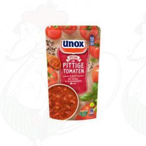 Unox Soep Pittige Tomatensoep 570ml