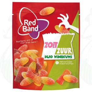 Red Band Zoet Zuur Duo Winegums 225g