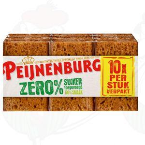 Peijnenburg Zero% Suiker 10 Plakjes 280g