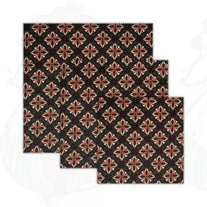 3-pack | Bivax Wrap Olive - ostduk - Dooek Kiwi | 20x20 * 25x25 * 30x30 cm