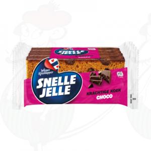 Snelle Jelle Kruidkoek Choc 4-Pack 214g