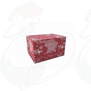 Leveranslåda Jul Röd