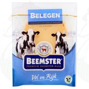 Sliced cheese Beemster Matured Premium 48+ | 150 grams in slices