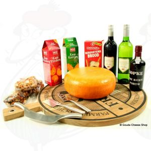 Deluxe package whole cheese