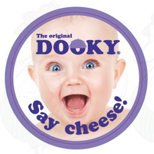 Cheese Label on Gouda Cheese