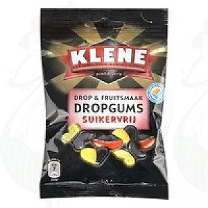 Klene Drop & Fruitsmaak Dropgums Suikervrij | 100 gram