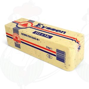 Crustless Gouda Cumin Cheese 40+ | Entire cheese 2 kilos / 4.4 lbs