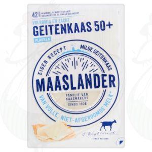 Sliced Maaslander Goats Cheese 50+ | 140 grams in slices