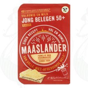 Sliced Maaslander Cheese Semi-Matured 50+ | 175 grams in slices