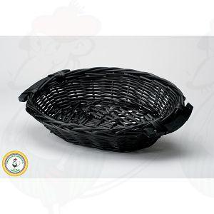 Ostkorg svart 38x28x8
