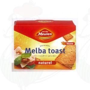 Melba Toast Naturel - Van der Meulen - 120 gram