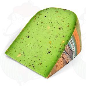 Grön Pestoost