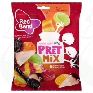 Red Band Zacht Zoet Drop Pret Mix 350g