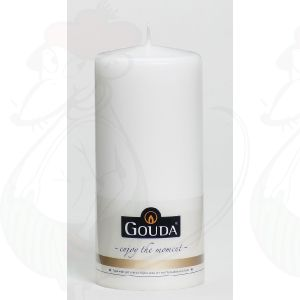 Pillar Candle 180/80 - 95 hour White