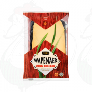 Sliced cheese Wapenaer Semi Matured 48+ | 175 grams in slices